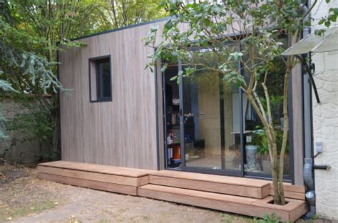 au bureau plan de cagne construction abri de jardin en bois pour créer bureau