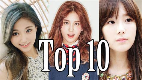 [top 10] Most Popular Kpop Girl Group Idols 2016 Youtube