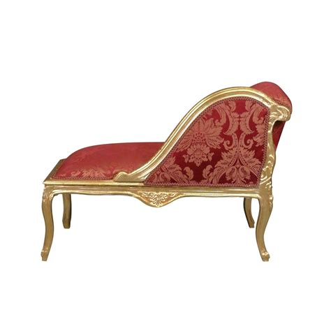 chaise style baroque chaise longue louis xv baroque furniture