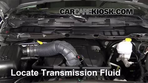 Transmission Fluid Level Check Ram 1500 (2011 2016)   2012
