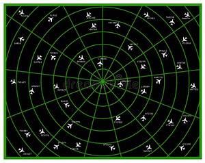 Flight Radar Stock Illustration  Illustration Of Radar