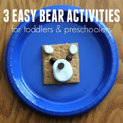 toddler approved three easy themed activities for 529 | bear%2Bactivities%2Bsquare