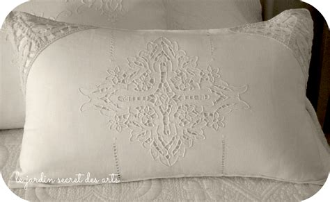 le jardin secret des arts cuscini romantici per il letto - Cuscini Romantici