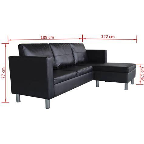 acheter canapé d angle acheter canapé d 39 angle 3 places modulable en cuir