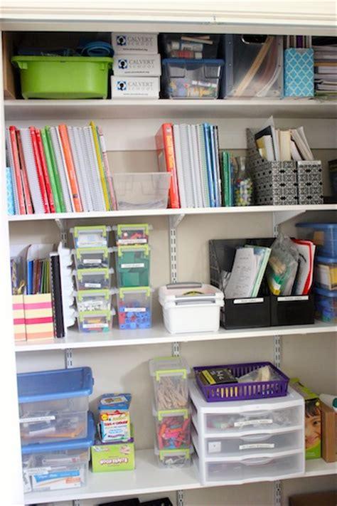 Homeschool Closet Organization Ideas by A Tour Of Our Homeschool Classroom