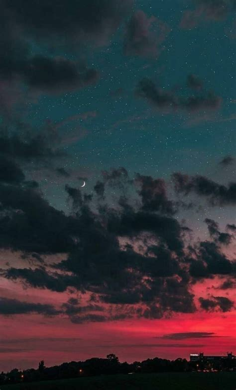 aesthetic night sky wallpaper  xoxoangela