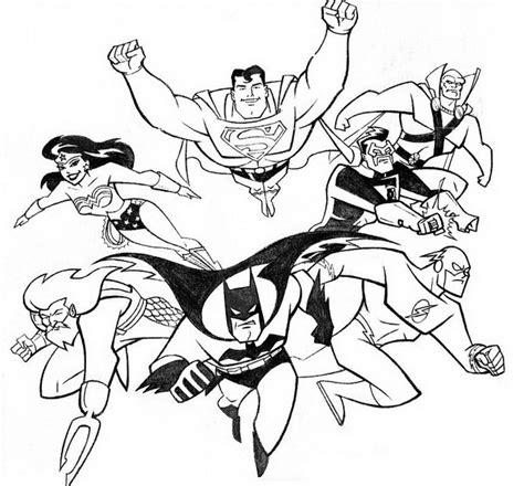 disegni da colorare della justice league disegnidacolorare it