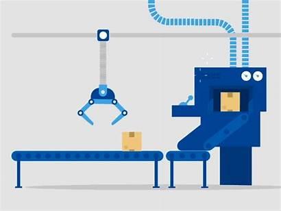Machine Box Dribbble Magic Animated Animation Gifs