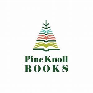 Pine Knoll Books—Pine Tree Logo Design | Logo Cowboy