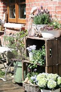 Weinkisten Dekorieren Draußen : reetselig terrassenstyling garden garten pinterest g rten gartendeko und gartenideen ~ Yasmunasinghe.com Haus und Dekorationen