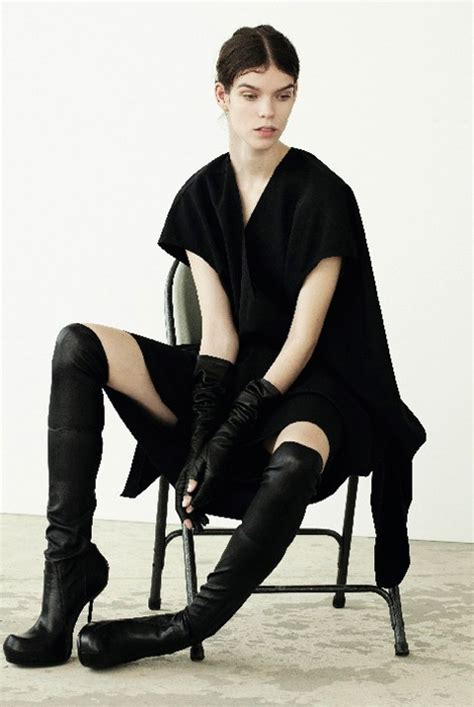Boot Fashion Meghan Collison Rick Owens Over The Knee