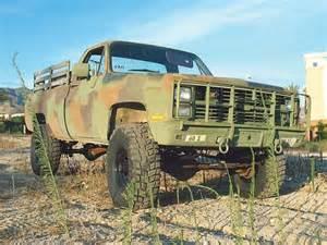 Chevy Military Trucks