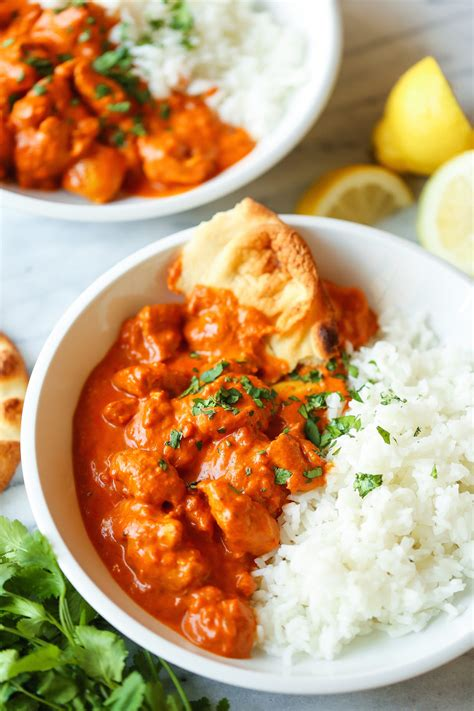 Sure, it might take two days to throw together, but when you pair it with some fluffy steamed rice or buttery • 96% would make again. Easy Chicken Tikka Masala - Damn Delicious