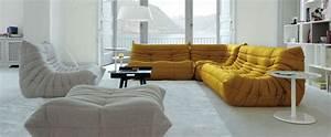 Canapé Style Togo : togo canap occasion meuble de salon contemporain ~ Voncanada.com Idées de Décoration