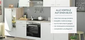 Küchenzeile 2 M Breit : onlinek chen m bel h ffner ~ Yasmunasinghe.com Haus und Dekorationen