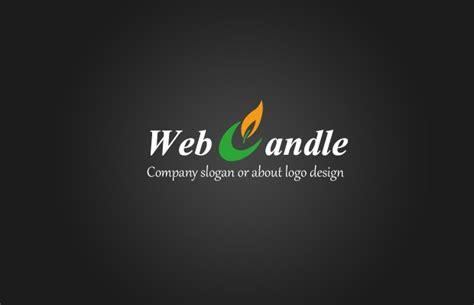 candle logo designs editable psd ai vector eps