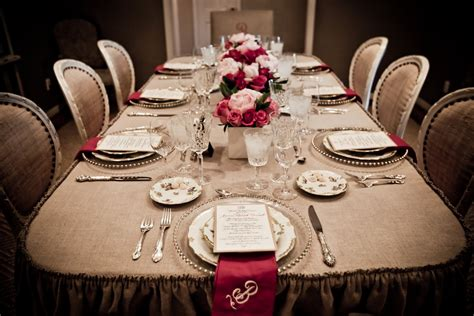 picture of table setting for dinner canadian hostess blog victorian style dinner with a modern twist