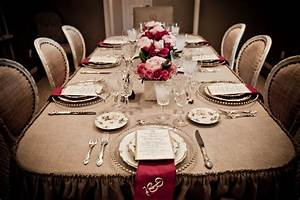 Canadian hostess blog victorian style dinner with a for Dinner party table