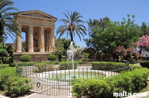 city siege 3 lower barrakka gardens valletta malta