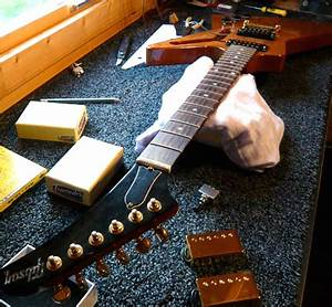 Gibson Explorer Pickup Swap Guitarlodge