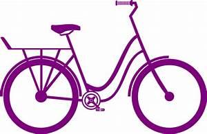 Purple Bike Clip Art at Clker.com - vector clip art online ...