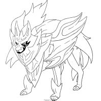disegni dei pokemon spada  scudo da colorare