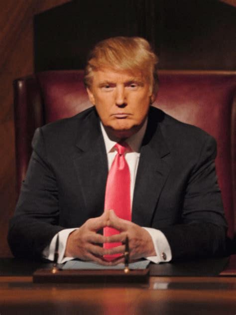 trump donald apprentice desk sitting history never reality president personality poised ways democratic agent double before he believe ll really