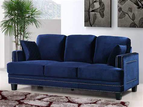 Blue Suede Sofa Why You Should Probably A Velvet Sofa In