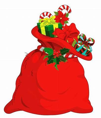 Santa Clipart Bag Clip Claus Noel Transparent
