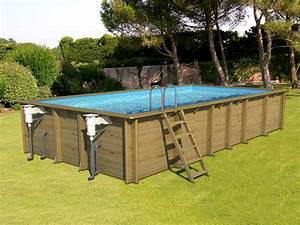 Piscine Hors Sol 4x2 : piscine bois 8x3 ~ Melissatoandfro.com Idées de Décoration