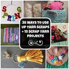 38 Ways To Use Up Yarn Scraps + 18 Scrap Yarn Projects Favecraftscom