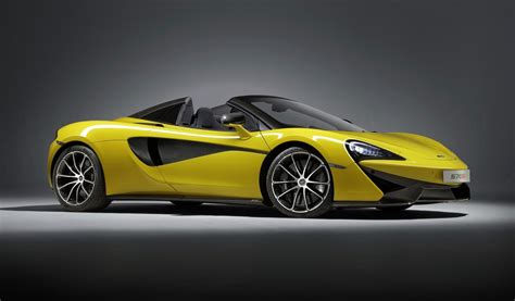 2018 Mclaren 570s Spider Drops Its Top