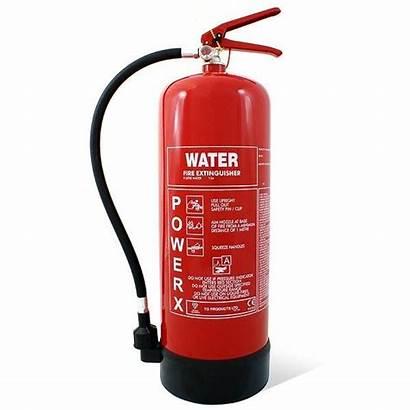 Extinguisher Fire Water Extinguishers 9l Site 9kg