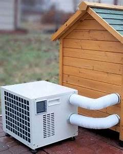 Dog house heater air conditioner combo unit for Dog house air conditioner heater combo