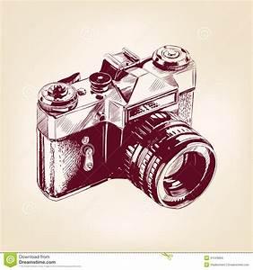 Appareil Photo Vintage : vieux llustration de vecteur d 39 appareil photo de photo de ~ Farleysfitness.com Idées de Décoration