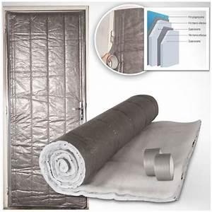 Isoler Une Porte De Garage : kit isolation porte de service 210 x 85 cm achat vente ~ Dailycaller-alerts.com Idées de Décoration
