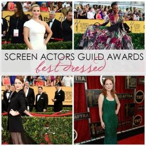 2015 SAG Awards : Best Dressed List • DreaminLace