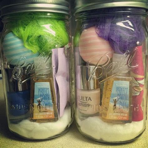 pinterest christmas gifts   jars wide mouth