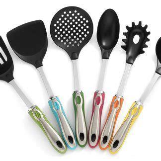 Kitchen Utensils with Holder 7 Pc Cute Utensil Set