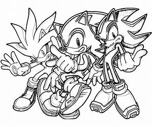 Sonic The Werehog Coloring Pages To Print - AZ Coloring Pages