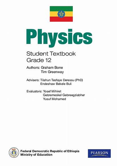 Grade Textbook Physics Ethiopia Student Education Ministry