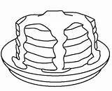 Pancakes Pancake Coloring Colouring Pages Stack Drawing Template Sausage Cookie Cake Super Sketch Cakes Cookies Coloringkidz Searches Recent Charlotte sketch template