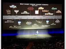 Disney revela calendario de películas que estrenarán hasta