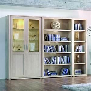 Bibliothque Contemporaine En Bois Design Brin D39Ouest