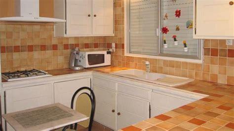 plan de travail carrelé cuisine transformer intérieur grâce au béton ciré