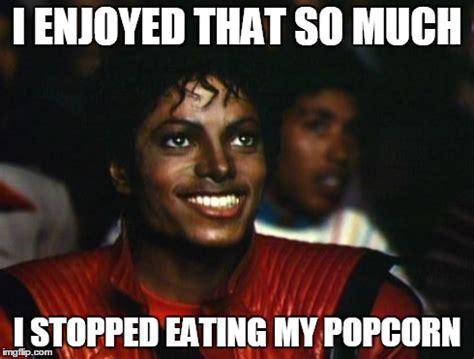 Popcorn Eating Meme - michael jackson imgflip