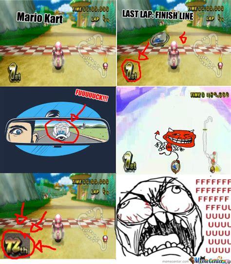Mario Kart Memes - mario kart troll by dagro36 meme center