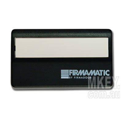 Firmamatic Garage Door Opener by Garage Door Remote Firmamatic Fmm433 Firmamatic 059409