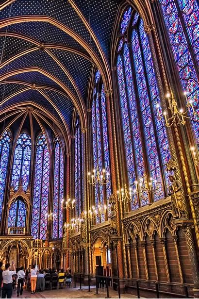 Chapelle Sainte Paris July Chappelle Commons Wikimedia