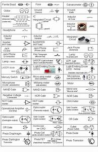 Circuit Symbols   Electronics  With Images